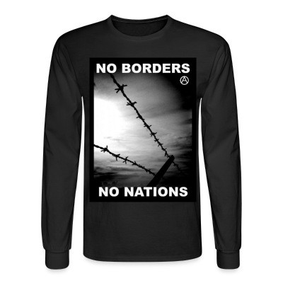 Manches longues No borders no nations