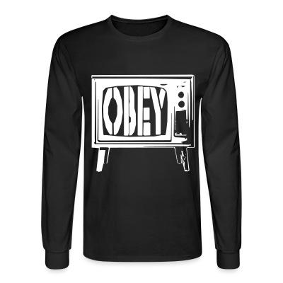 Manches longues Obey TV