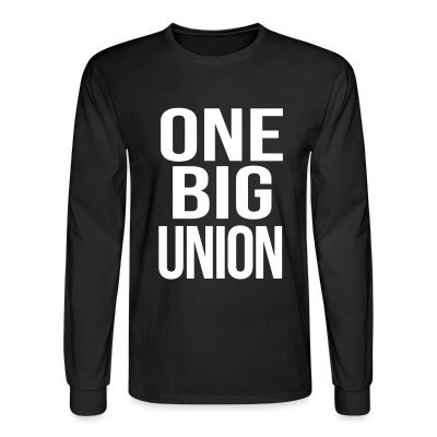 Manches longues One big union