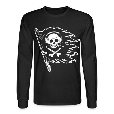 Manches longues Pirate