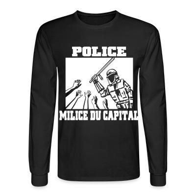 Manches longues Police milice du capital