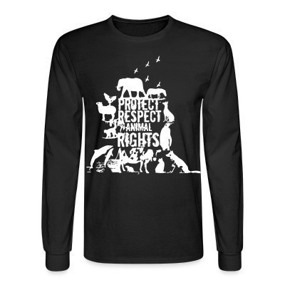 Manches longues Protect respect animal rights
