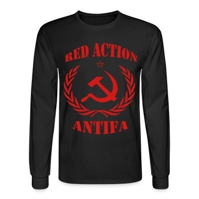 Manches longues Red action antifa