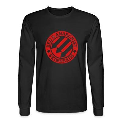 Manches longues Red & anarchist skinheads
