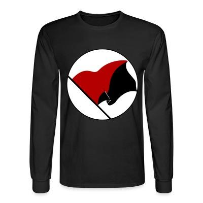 Manches longues Red & Black flag