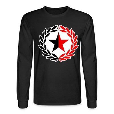 Manches longues Red & Black Star