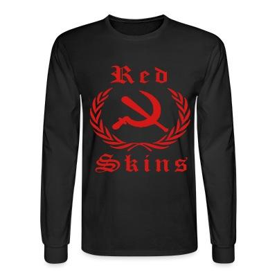 Manches longues Red skins