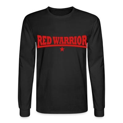 Manches longues Red warrior