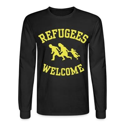 Manches longues Refugees welcome