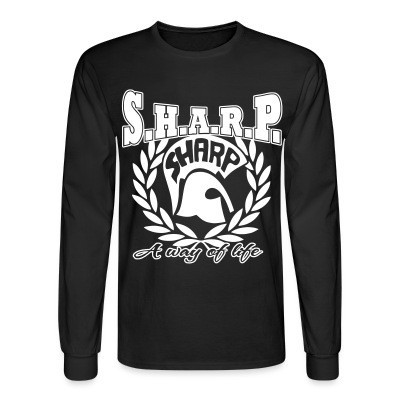 Manches longues S.H.A.R.P. a way of life