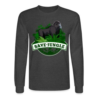 Manches longues Save the jungle