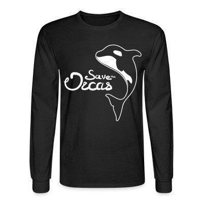 Manches longues Save the orcas