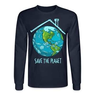 Manches longues Save the planet