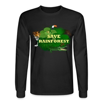 Manches longues Save the rainforest