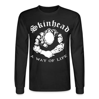 Manches longues Skinhead a way of life