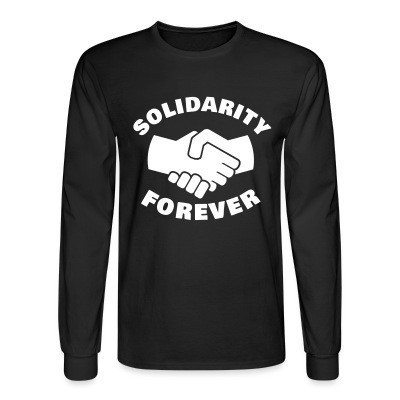 Manches longues Solidarity forever