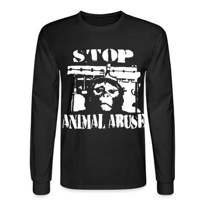 Manches longues Stop animal abuse