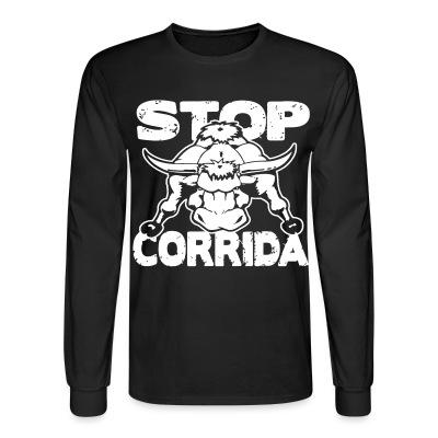 Manches longues Stop corrida