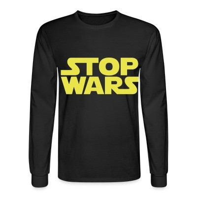 Manches longues Stop Wars