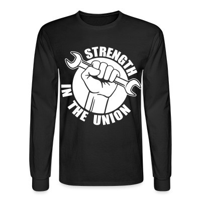 Manches longues Strength in the union