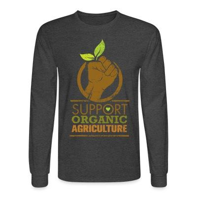 Support organic agriculture