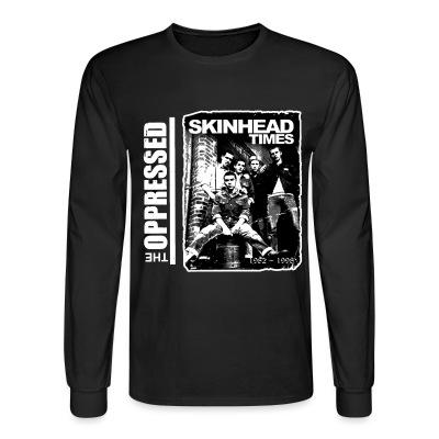 Manches longues The Oppressed - Skinhead times