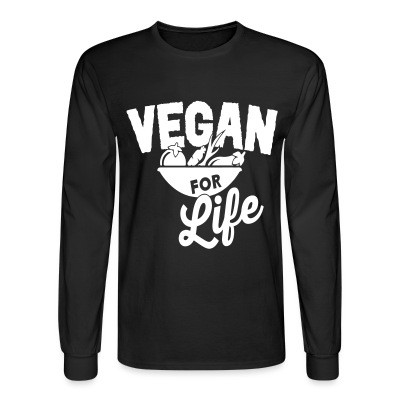 Manches longues Vegan for life