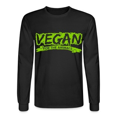 Manches longues Vegan for the animals