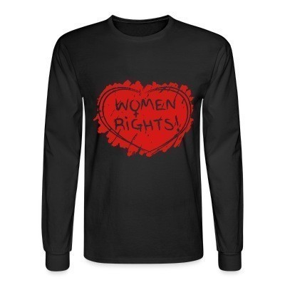 Manches longues Women rights!