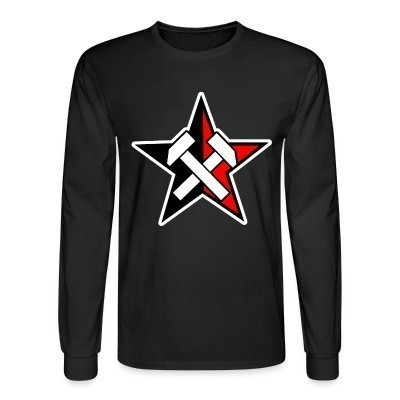 Manches longues Working Class Black & Red Star
