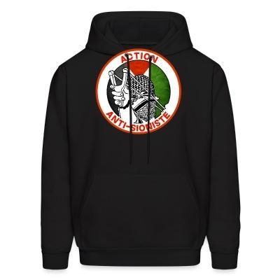 Sweat (Hoodie) Action anti-sioniste