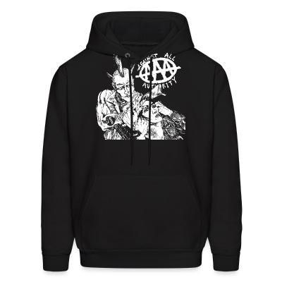 Sweat (Hoodie) Against All Authority - AAA