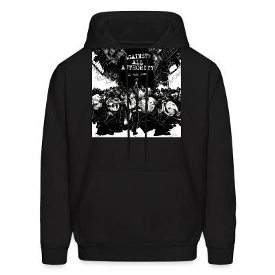 Sweat (Hoodie) Against all authority - All fall down