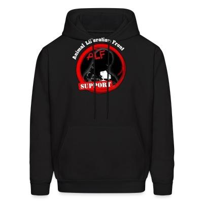 Sweat (Hoodie) ALF Animal Liberation Front support