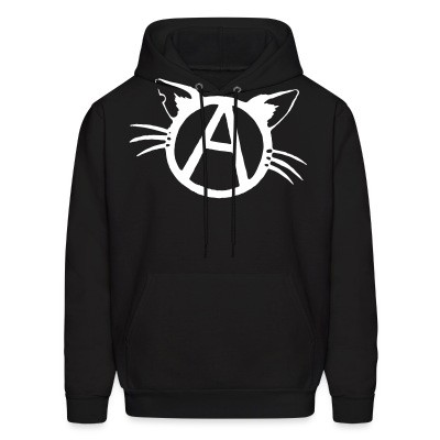 Sweat (Hoodie) Anarchy cat