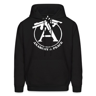 Sweat (Hoodie) Anarchy & peace