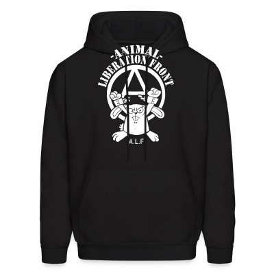 Sweat (Hoodie) Animal liberation front A.L.F.