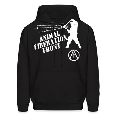 Sweat (Hoodie) Animal Liberation Front - ALF