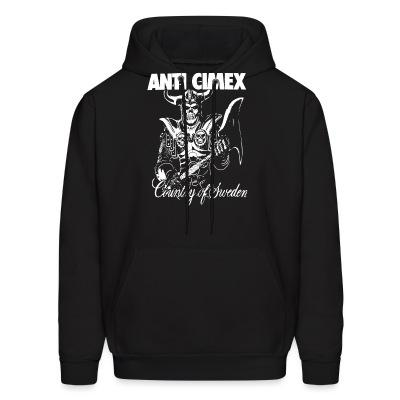 Sweat (Hoodie) Anti Cimex - Country of Sweden