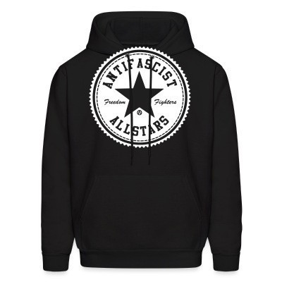 Sweat (Hoodie) Antifascist allstars - freedom fighters