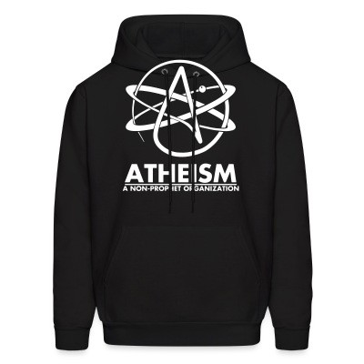 Sweat (Hoodie) Atheism: a non-prophet organisation