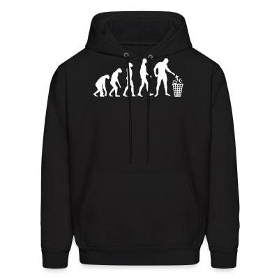 Sweat (Hoodie) Atheist evolution