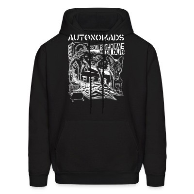 Sweat (Hoodie) Autonomads - from rusholme with dub