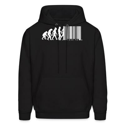 Sweat (Hoodie) Bar code evolution