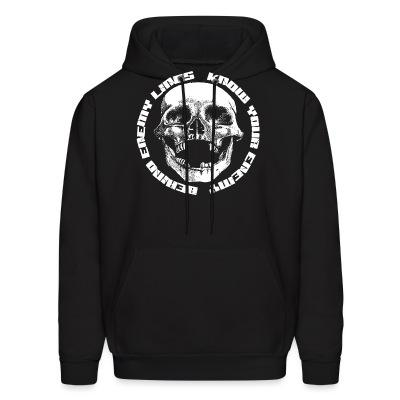 Sweat (Hoodie) Behind Enemy Lines - Know your enemy