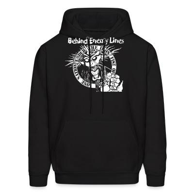Sweat (Hoodie) Behind Enemy Lines - One nation under the iron fist of god