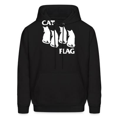 Sweat (Hoodie) Cat Flag