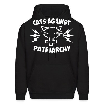 Sweat (Hoodie) Cats against patriarchy