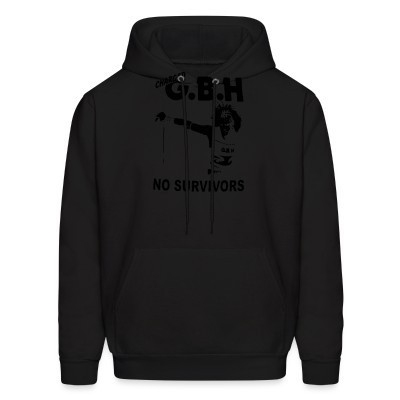 Sweat (Hoodie) Charged GBH - No Survivors