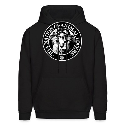 Sweat (Hoodie) Conflict - To a nation of animal lovers